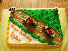 boys birthday cakes images | Dirt Bikes Birthday Cake by Gs Cakes