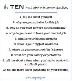 Job interview questions to ask employers | J-O-B | Pinterest ...