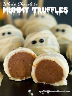 Trufas para Halloween!!