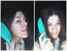 KireiKana: Irresistible Me Jade Hair Straightening Ceramic-Tourmaline Brush: perfection in 10 minutes! #irresistibleme #jadebrush #hair #beautyblog #beauty