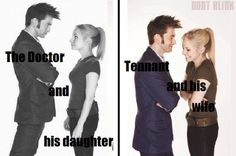 I love that his wife played his daughter.