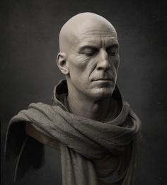 ArtStation - Mysterious Figure Bust, Jarad Vincent