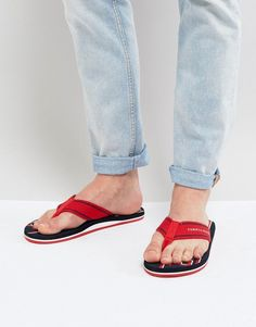3008a4eedfbbd9 Get this Tommy Hilfiger s flip flops now! Click for more details. Worldwide  shipping.
