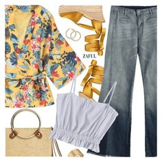 """""""Boho Style"""" by pokadoll ❤ liked on Polyvore featuring Tory Burch and vintage"""