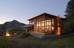 Twisp Cabin from Johnston Architects