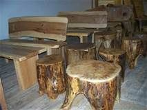 log outdoor furniture - Yahoo Search Results Yahoo Image Search Results Dream Garden, Modern Rustic, Firewood, Outdoor Furniture, Led, Table, Yahoo Search, Interesting Stuff, Image Search