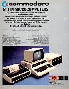 Vintage Commodore Computer