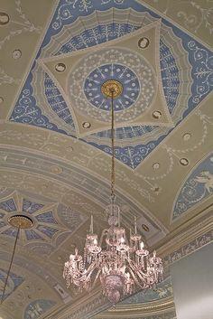 Robert Adam Interiors | Robert Adam interior, Leinster House. Leinster House is the seat of ...