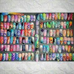 Varie Acrylic Nail Designs, Acrylic Nails, Fire Nails, Spring Nails, Simple Designs, Nail Art, Ganesha, Nails Design, 2000s