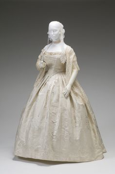 Ball gown ca. 1857-67  From the Mint Museum