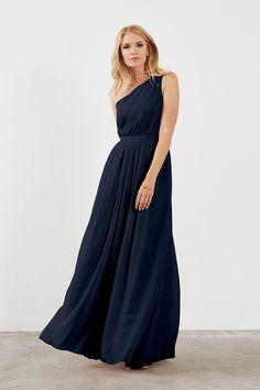 Dove   Dahlia Savannah Bridesmaid Dress in Dusty Lilac in Chiffon 16223ec55a47