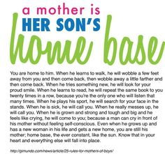 Quotes About Your Son | son quotes In the words of Dr. Suess...this is 'truer than true'.