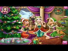 Elsa Frozen Disney Christmas Party Frozen Pelicula Completa