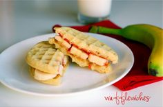 wafflewiches - for breakfast