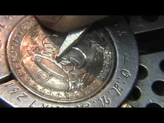 Hobo Nickel Speed Carving ' Capn' by Shaun Hughes - YouTube