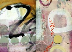 collage journeys: Visual Journal Part 2 Jane Davies.
