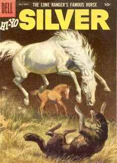 Silver and Tonto were so awesome, they both spun off from the Lone Ranger into their own comics. Double click on the image for more information.
