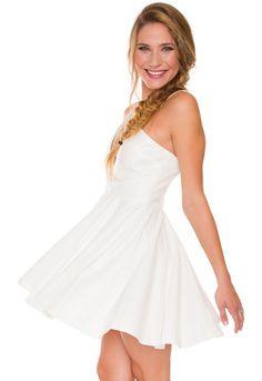 Nika Vega Dress - White