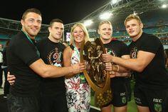 Sam Burgess Photos Photos: 2014 NRL Grand Final - South Sydney v Canterbury Rugby League, Rugby Players, Rabbits In Australia, Sam Burgess, Great Team, Canterbury, Finals, Sexy Men, Sydney