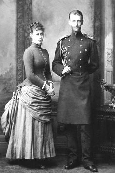 Engagement Photography of HIH Grand Duke Sergei Alexandrovich of Russia & HGDH Princess Elisabeth of Hesse and by Rhine in September Queen Victoria Prince Albert, Princess Alice, Princess Elizabeth, House Of Romanov, Royal King, Alexandra Feodorovna, Tsar Nicholas Ii, Beautiful Love Stories, Grand Duke