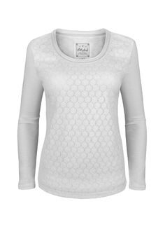 Lovely Lace Tee  http://www.mistral-online.com/clothing-c50/t-shirts-c6/lovely-lace-scoop-neck-tee-white-p17505