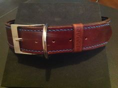 Leather collar HAJAN