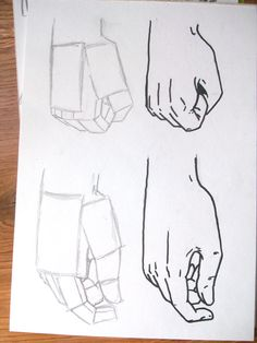 How to draw hands by Benulis on DeviantArt