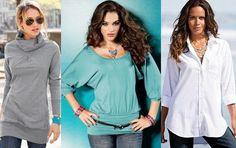 Блузы и рубашка для большого живота