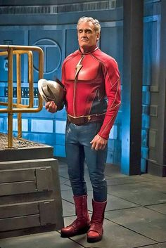 John Wesley Shipp as the flash  W3  2016