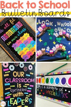 Back to School Bulletin Board Ideas – Mrs. B's Beehive Back to School Bulletin Board Ideas – Mrs. B's Beehive,Cori Blubaugh – Mrs. B's Beehive on TPT Bright and colorful back to school bulletin boards to welcome your students back! August Bulletin Boards, Rainbow Bulletin Boards, Valentine Bulletin Boards, Bulletin Board Design, Kindergarten Bulletin Boards, Birthday Bulletin Boards, Reading Bulletin Boards, Classroom Bulletin Boards, Elementary Bulletin Boards
