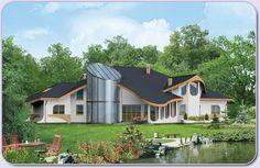 Dom mieszkalny, jednorodzinny, wielopokoleniowy, wolno stojący, parterowy z dużym użytkowym poddaszem, niepodpiwniczony.
