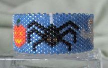 Spooky Spider Tea Light Cover Pattern at Sova-Enterprises.com