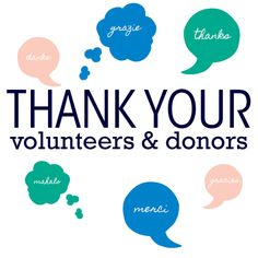 Successful Fundraising Tip: Thank Your Volunteers & Donors!