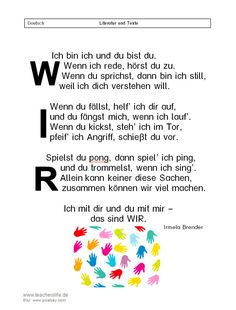 Ich bin ich und du bist du – Teacher's Life Ich bin ich und du bist du – Teacher's Life # Kindergarten Kindergarten Portfolio, Kindergarten Projects, Kindergarten Lesson Plans, Your Teacher, Toddler Preschool, Pre School, Kids And Parenting, Professor, About Me Blog