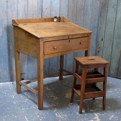 A 19th C Postmaster's desk