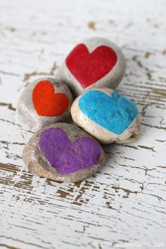Gratitude Stones: A Thanksgiving Nature Craft for Kids