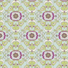 Light Chic Paper (PA-303) - Paradise by Patricia Bravo - Art Gallery Fabrics - 1 Yard