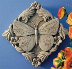 Acanthus Butterfly - Carruth Studio