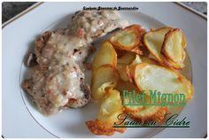 Filet mignon de porc sauce au cidre, Thermomix