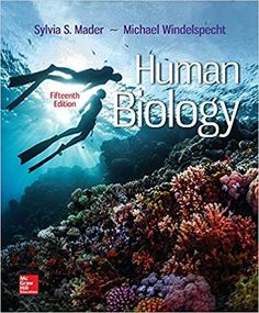 Human Biology 15th Edition by Sylvia S. Mader ISBN-13: 978-1259689796 ISBN-10: 1259689794