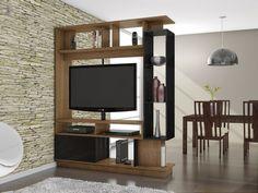 Resultado de imagen para muebles divisores con tv