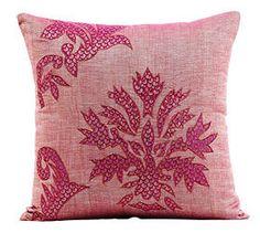 Spa House Décor  www.spahousedecor.com.au  Genevieve Embroided Cushion
