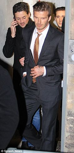 All I have to say my love David Beckham always knows how to dress! Love his fashion style!!