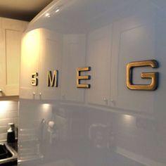 Smeg retro fridge by Absolute Project Management