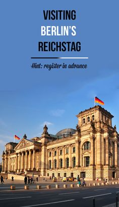 Visiting Reichstag, the German Parliament in Berlin, is easy but you need to arrange it well in advance. Check how to do it and see how beautifully designed it is inside!