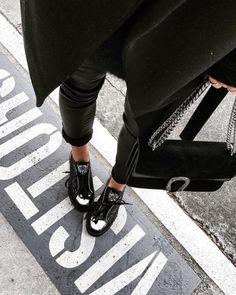 See Want Shop blogger Lisa Hamilton | Black on Black |