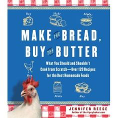 Awesome book/cookbook--makes you think about the real flavor of food and what in this day and age is worth making from scratch. I found myself surprised at how simple it is to make some truly delcious staples like bread and yogurt.