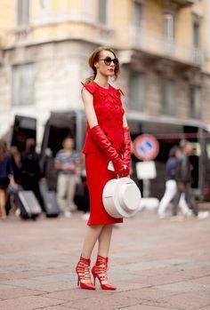#sukienka #czerwona #vumag #inspiracje #zakupy #moda #red #dress #fashion