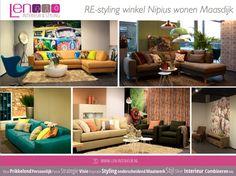 RE-styling Nipius Maasdijk afd. Feelings Designed en styled by LEN Interieur & Styling
