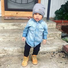 What is your mini rockin' today? : @nati916 #minilicious #timberland •
